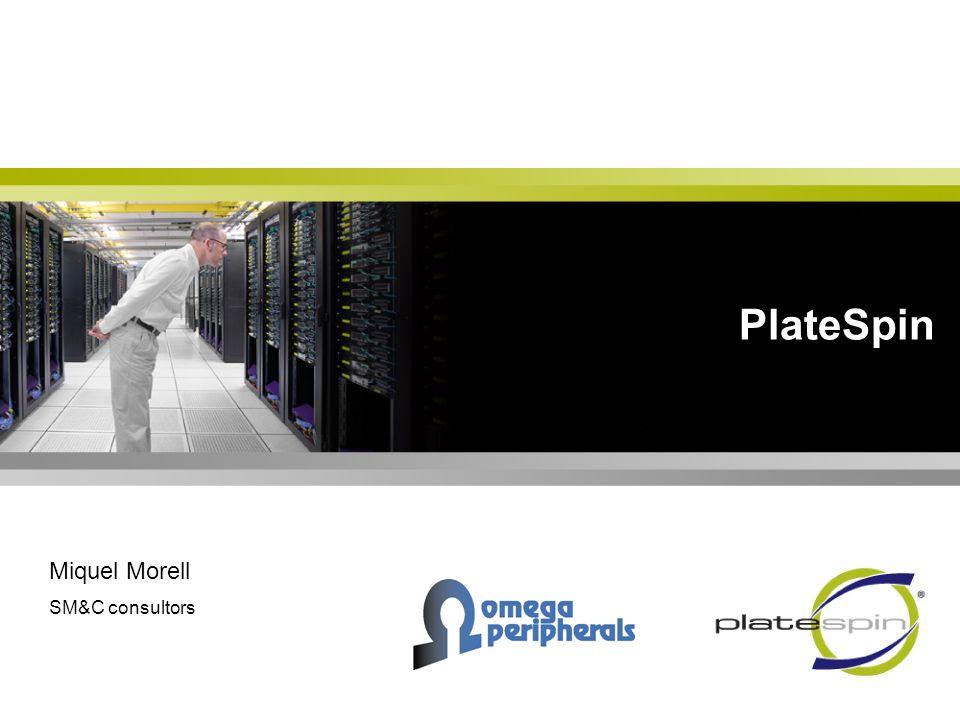 Agenda Perfil de la compañía Desafíos de los centros informáticos Las soluciones de Platespin: –PlateSpin PowerRecon –PlateSpin PowerConvert Porqué Platespin.