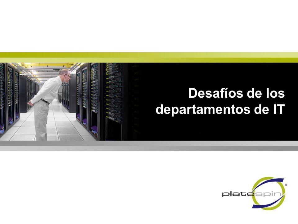 Desafíos de los departamentos de IT