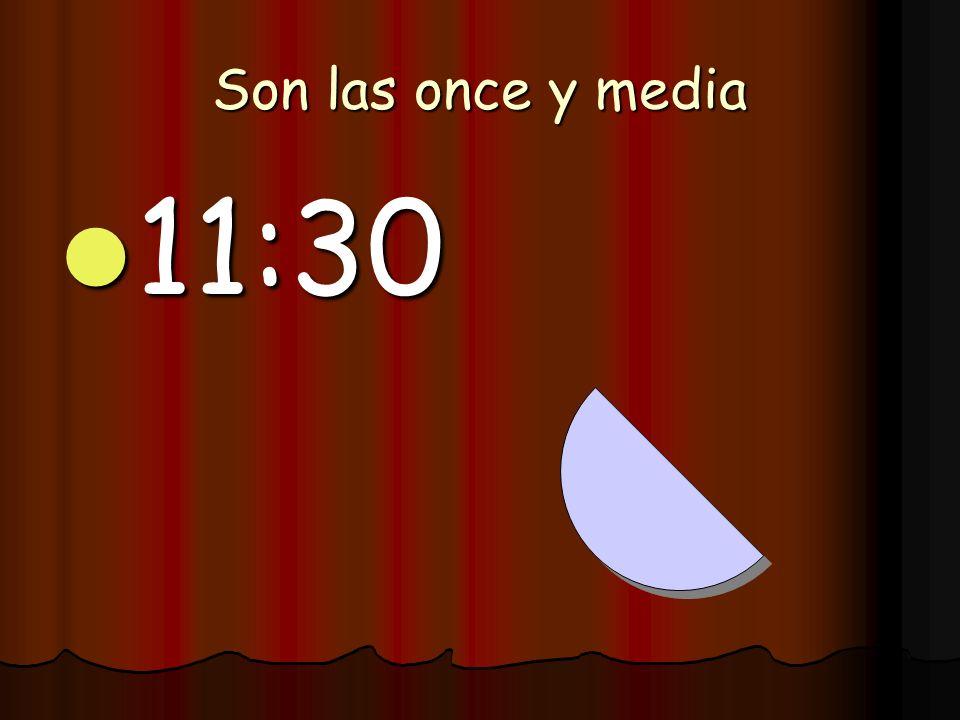Son las dos y veintiocho 2:28 2:28