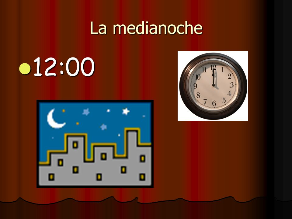 Son las once y media 11:30 11:30