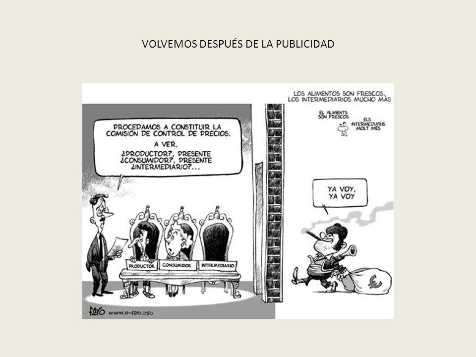 VOLVEMOS DESPUÉS DE LA PUBLICIDAD