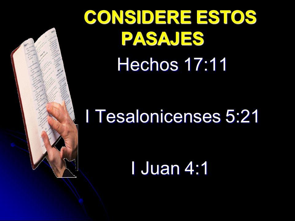 # 1 Debemos tener una plena confianza de que es la Palabra de Dios