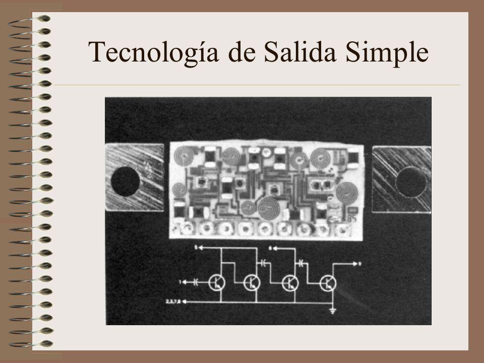 Tecnología de Salida Simple