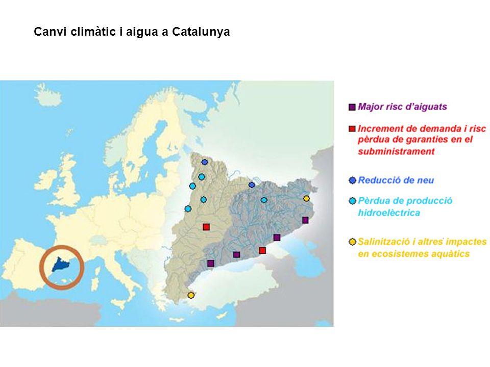 Canvi climàtic i aigua a Catalunya