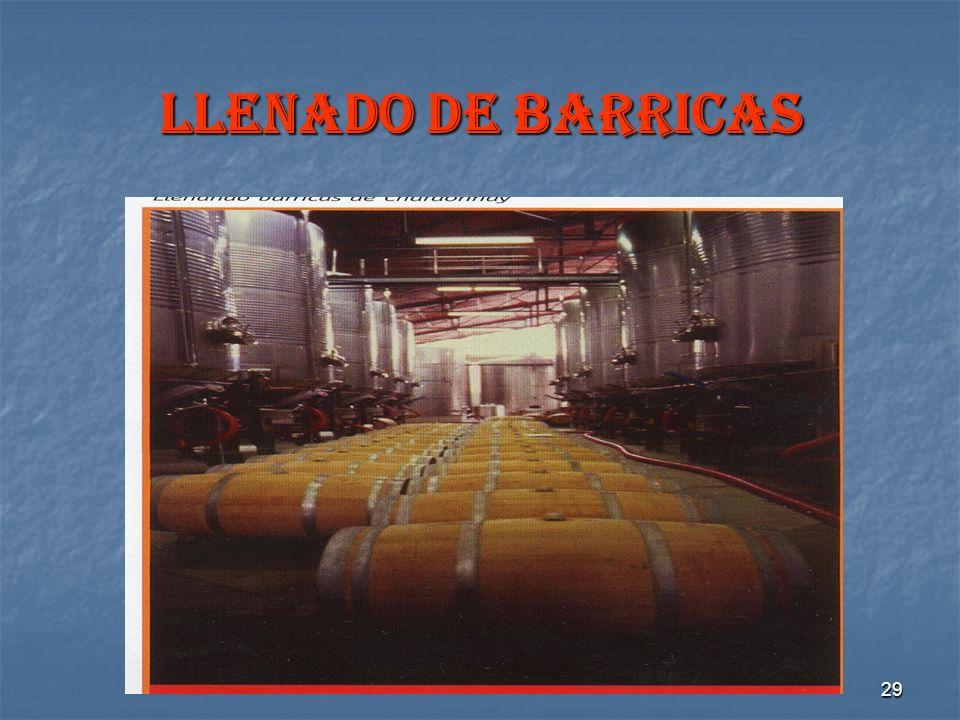 29 LLENADO DE BARRICAS
