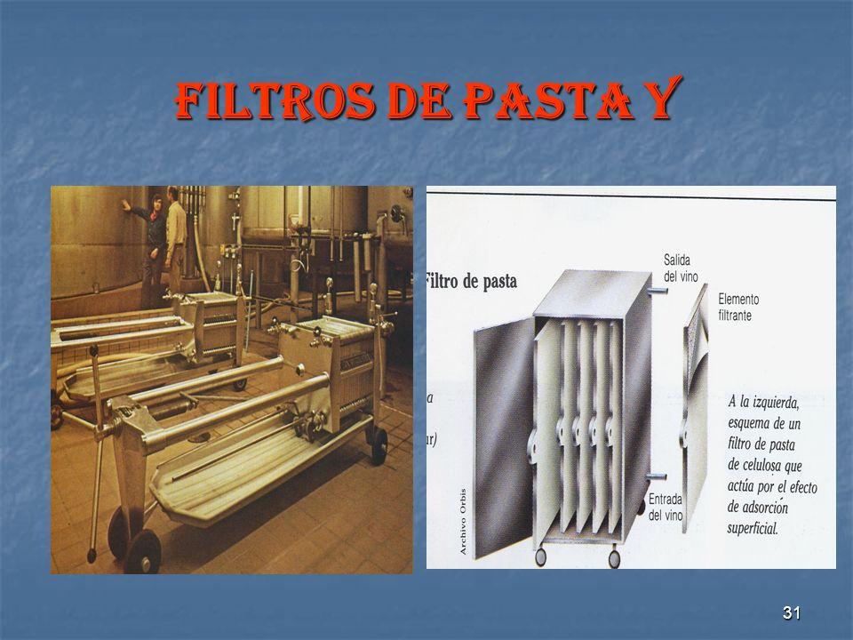 31 FILTROS DE PASTA Y
