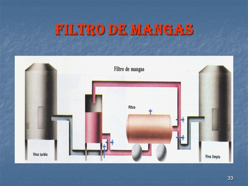 33 FILTRO DE MANGAS