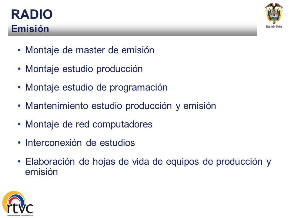 Programación y producción RADIO Musical –Radiónica, al aire: -La rockestra: información diaria de actualidad musical y abc del rock -Detector: análisi