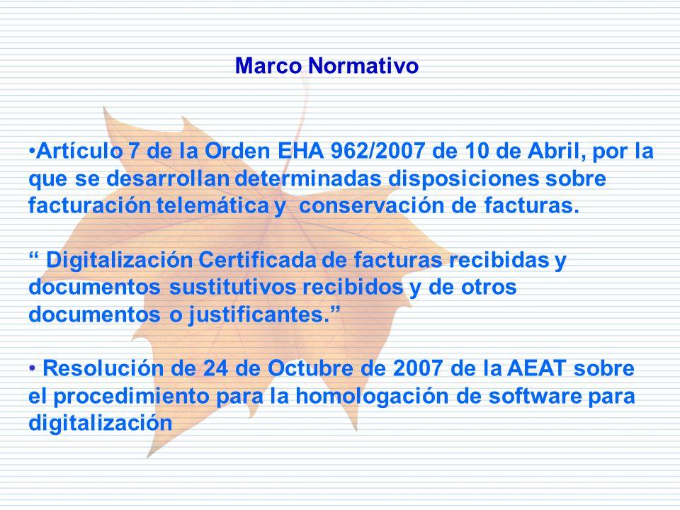 Departamento de Informática Tributaria Artículo 7 de la Orden EHA 962/2007 de 10 de Abril, por la que se desarrollan determinadas disposiciones sobre
