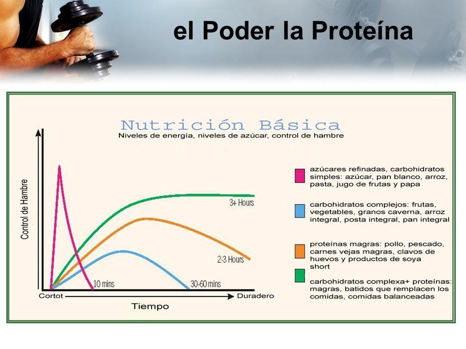 el Poder la Proteína