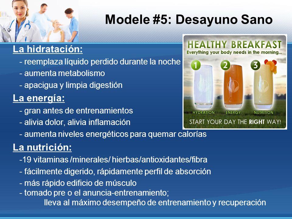 La hidratación: - reemplaza líquido perdido durante la noche - aumenta metabolismo - apacigua y limpia digestión La energía: - gran antes de entrenami