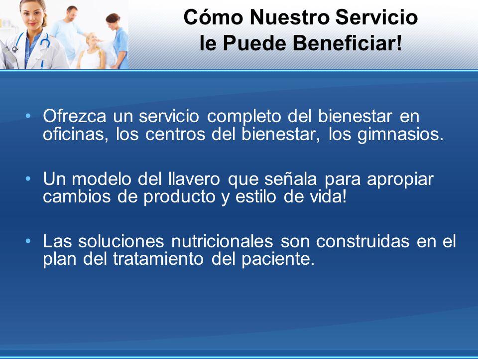 Cómo Nuestro Servicio le Puede Beneficiar! Ofrezca un servicio completo del bienestar en oficinas, los centros del bienestar, los gimnasios. Un modelo
