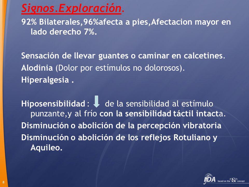 9 EXPLORACIONES COMPLEMENTARIAS.Analítica: Hiperglucemia,resto normal.