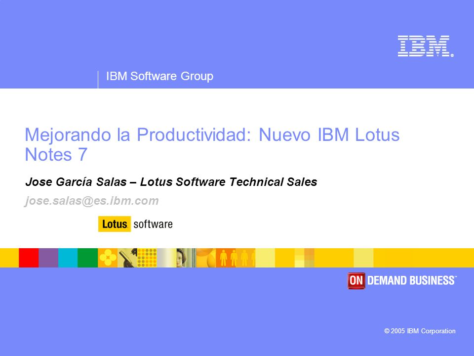 IBM Software Group | Lotus Software © 2005 IBM Corporation 12 Soporte para Smart Tags