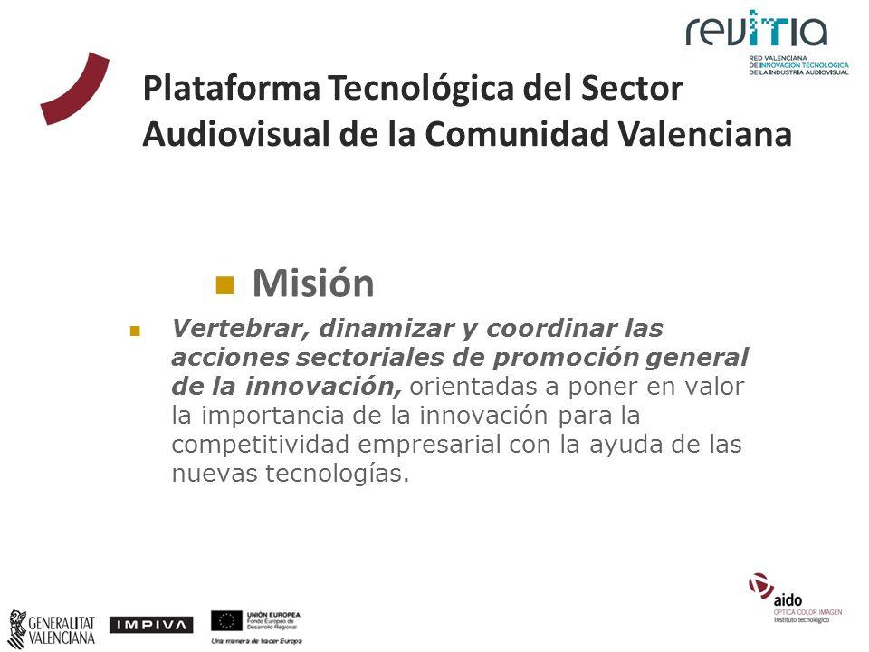 Misión Vertebrar, dinamizar y coordinar las acciones sectoriales de promoción general de la innovación, orientadas a poner en valor la importancia de