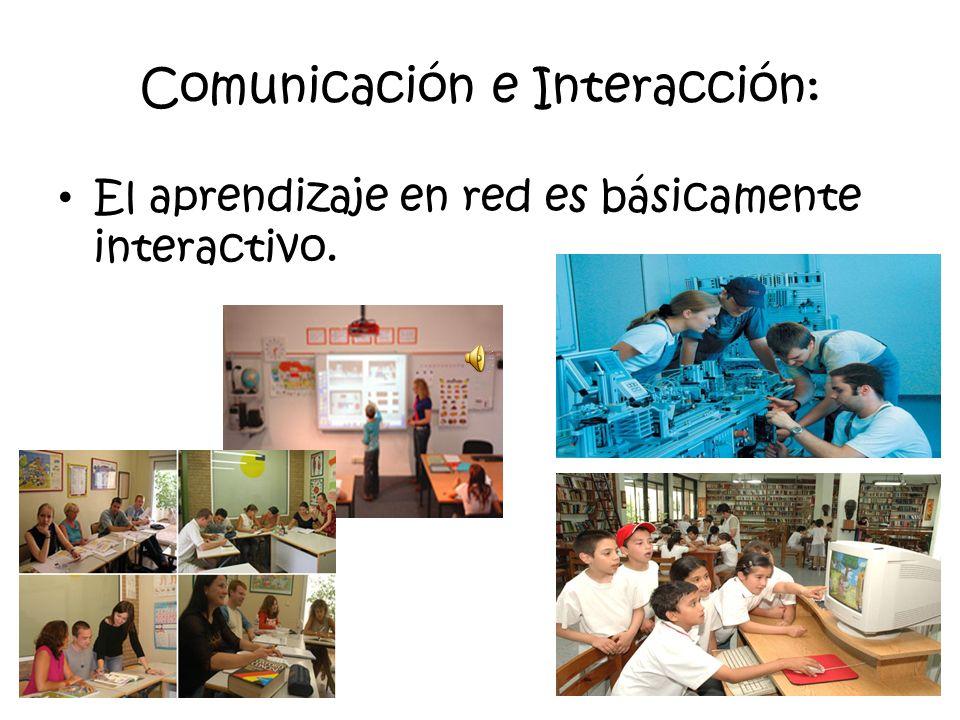 1.4.2 Ventajas del enfoque de multimedia y redes del aprendizaje distribuido Las principales ventajas son las siguientes: