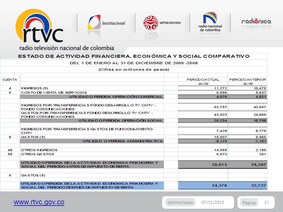 www.rtvc.gov.co 17 07/11/2013