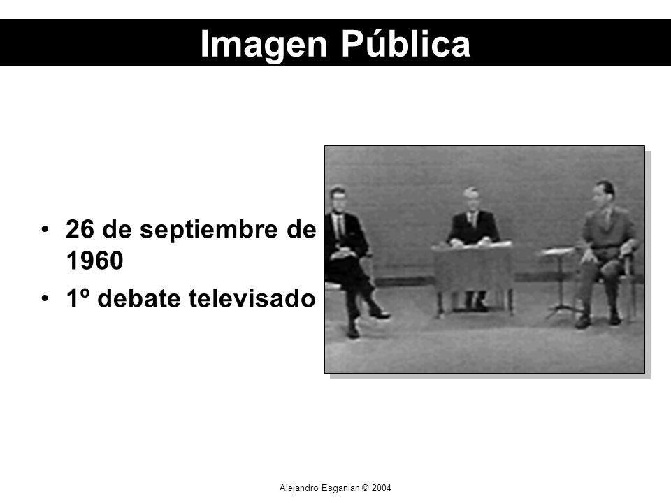 Alejandro Esganian © 2004 26 de septiembre de 1960 1º debate televisado Imagen Pública