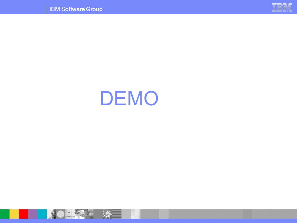IBM Software Group DEMO