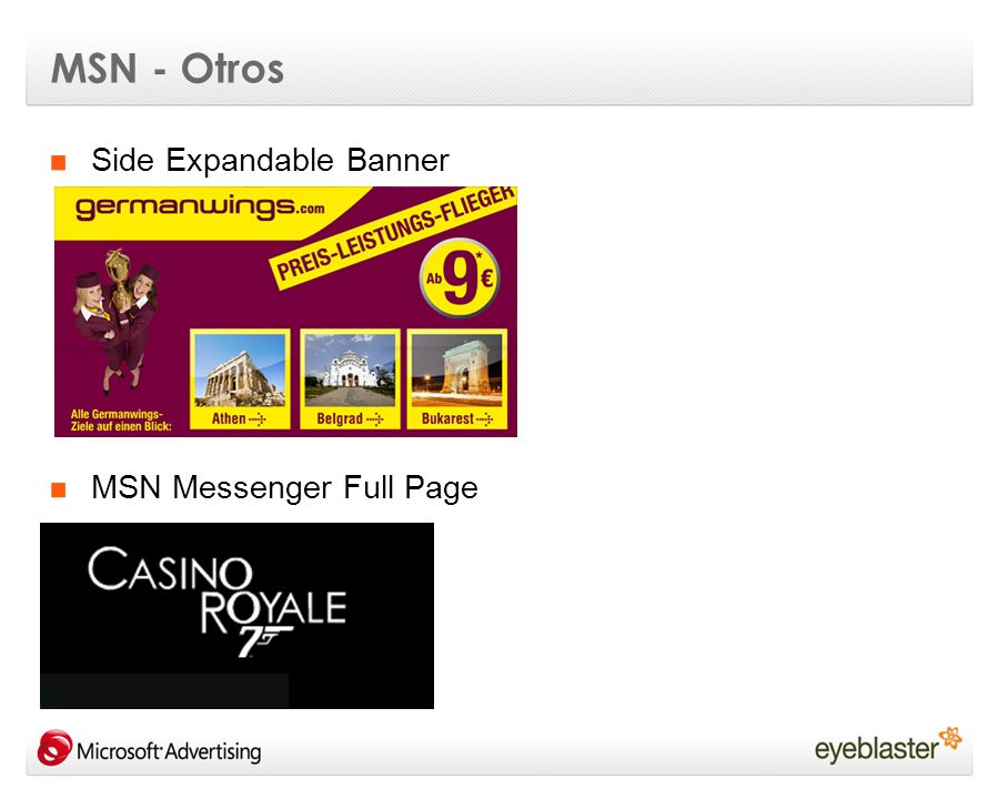 MSN - Otros Side Expandable Banner MSN Messenger Full Page