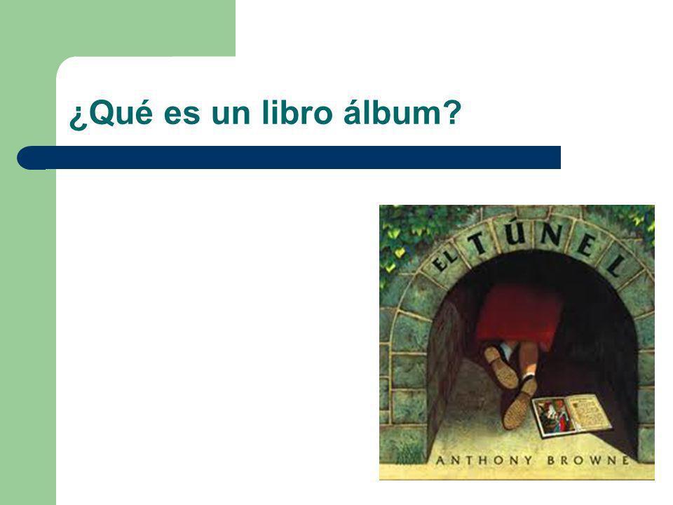 ¿Qué es un libro álbum?