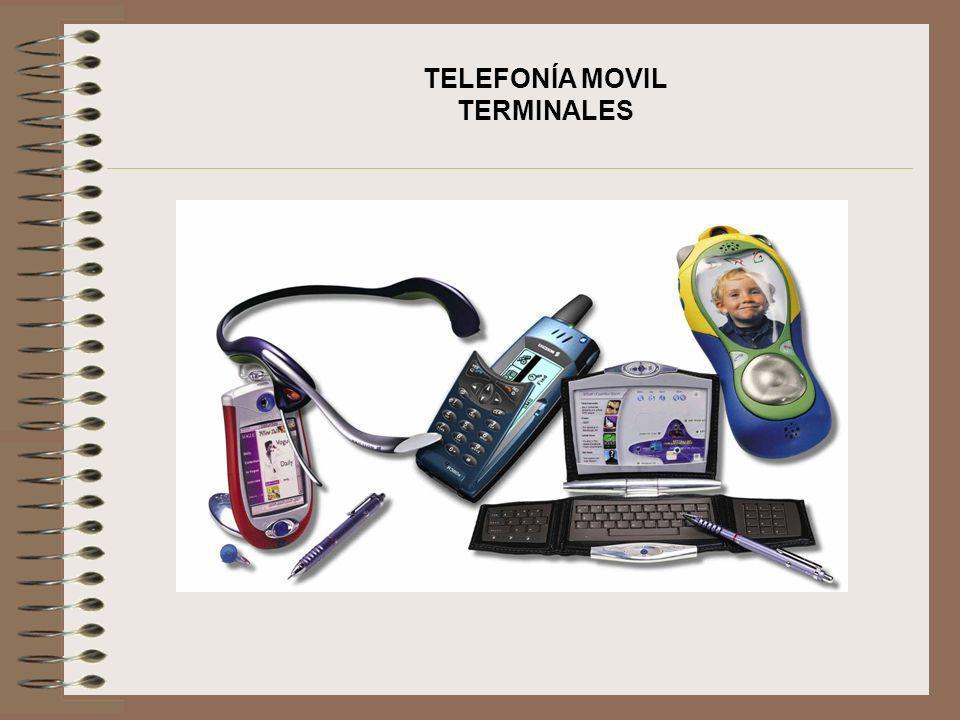 TELEFONÍA MOVIL TERMINALES