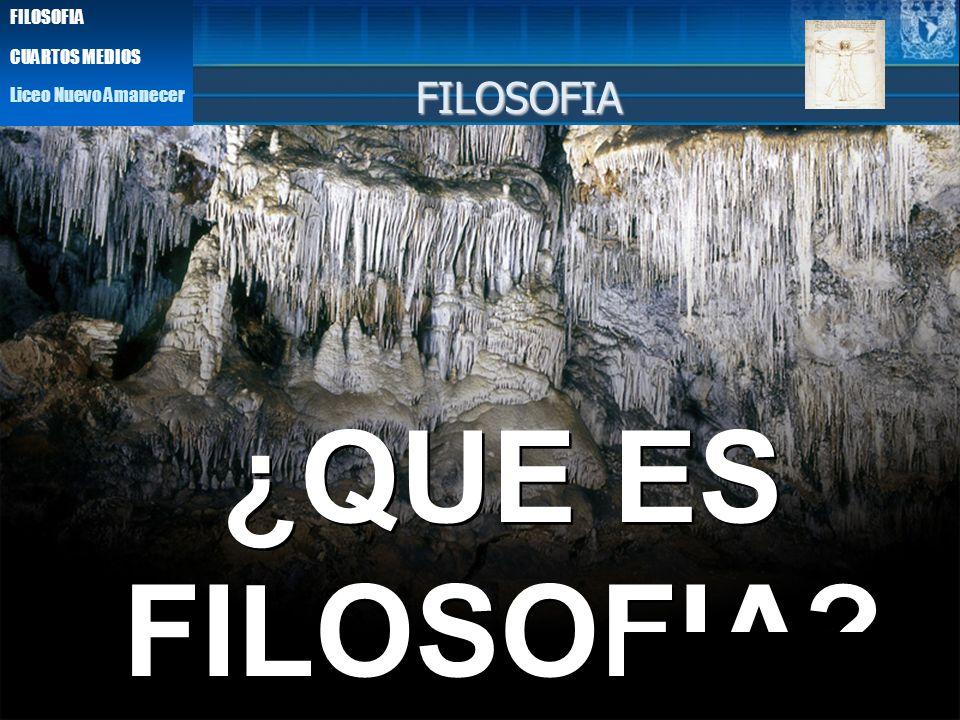 EMPIRISMO ¿QUE ES FILOSOFIA? ¿QUE ES FILOSOFIA? FILOSOFIA Liceo Nuevo Amanecer FILOSOFIA CUARTOS MEDIOS