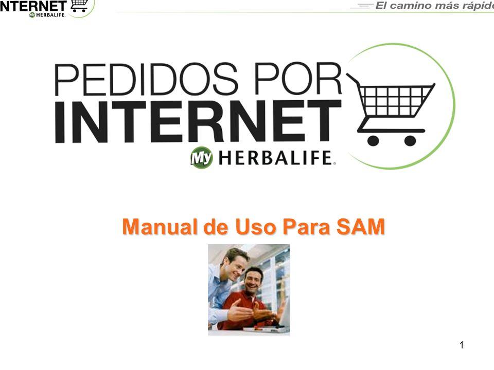 1 Manual de Uso Para SAM