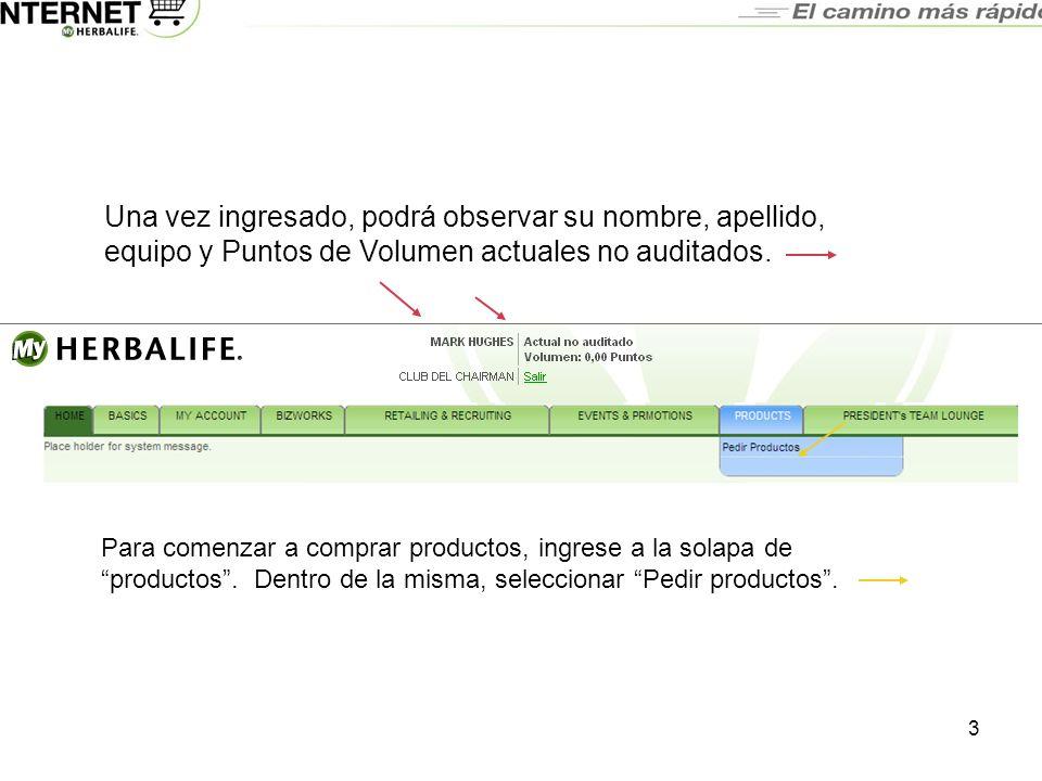 14 Al aprobarse la transacción electrónica, un mensaje como éste aparecerá en la pantalla.