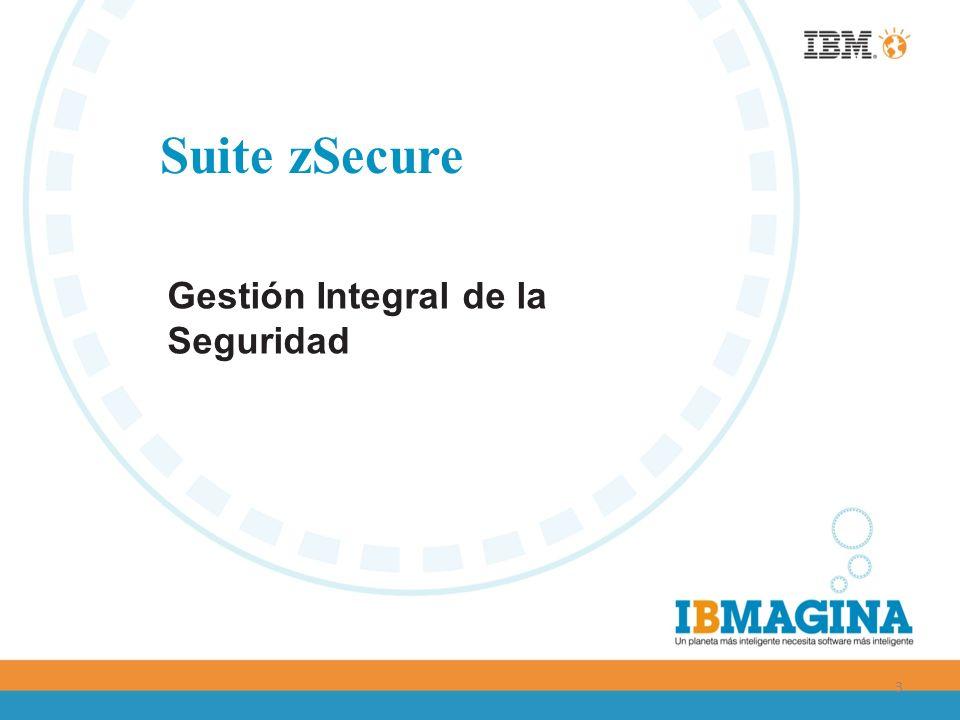 3 Suite zSecure Gestión Integral de la Seguridad