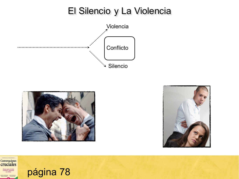 23 El Silencio y La Violencia página 78 Conflicto Violencia Silencio