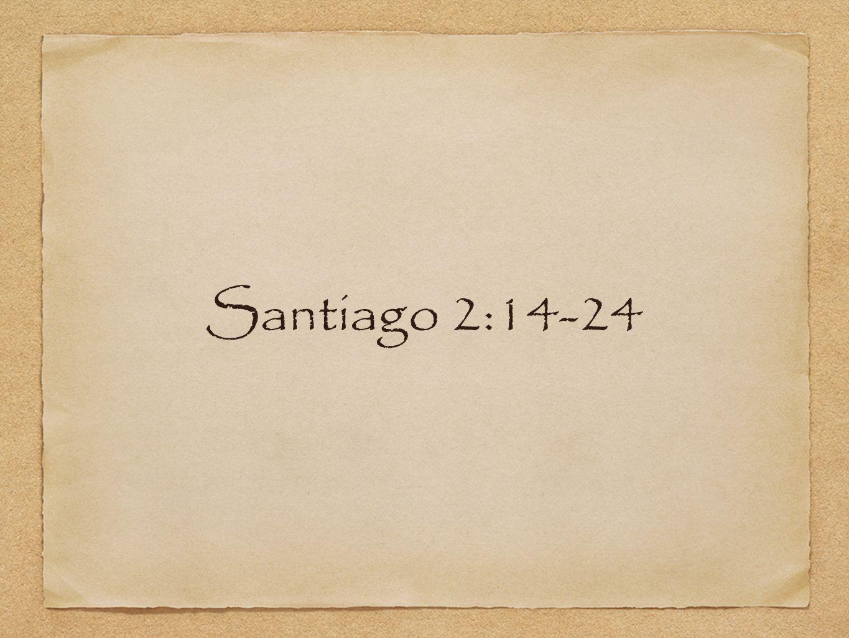 Santiago 2:14-24
