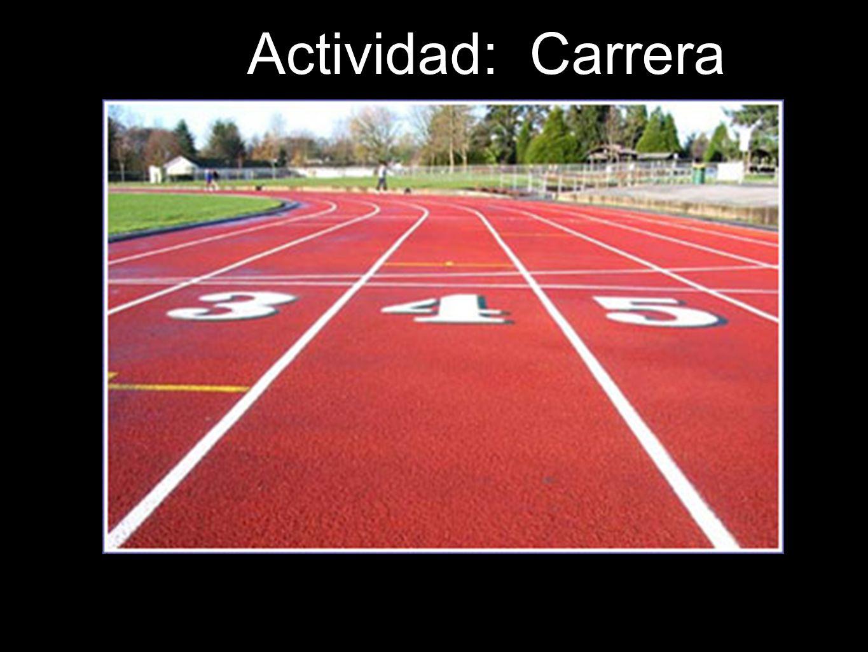 Actividad: Carrera