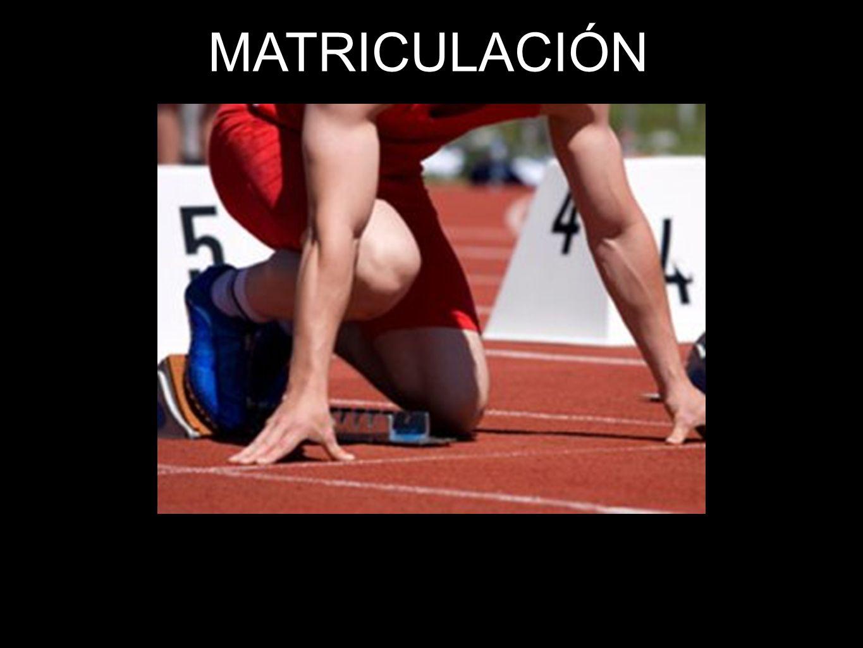 7 MATRICULACIÓN