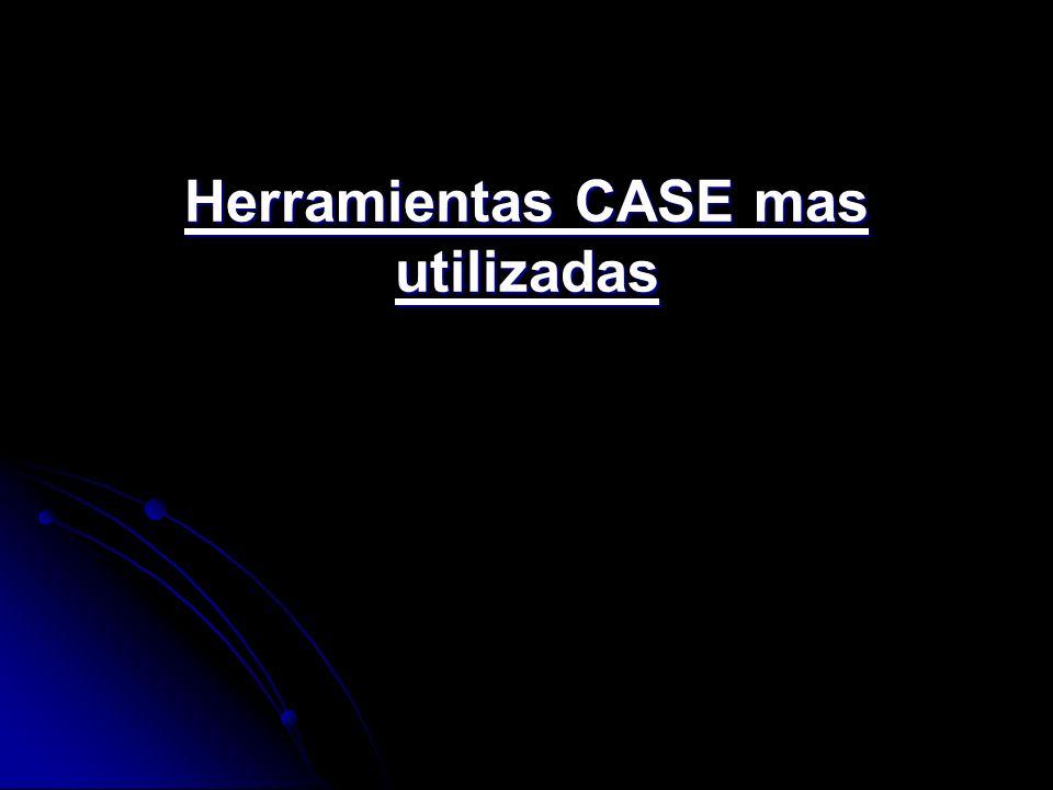 Herramientas CASE mas utilizadas