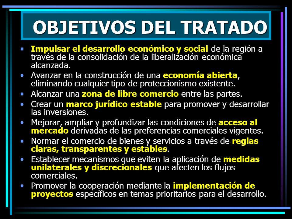 RASGOS BASICOS 1.Incluye la liberalización completa del comercio recíproco de bienes, hasta en 20 años (más rápida para sector industrial, no lineal)