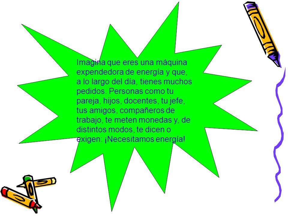 A diario intercambiamos energía.La damos, la recibimos, la transformamos y la maximizamos.