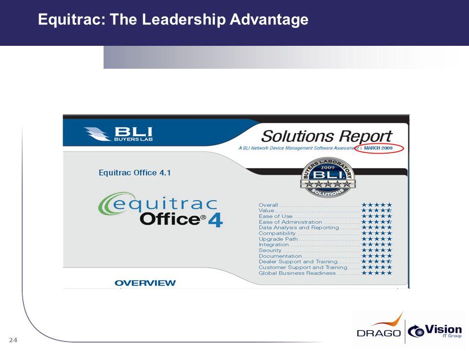 24 Equitrac: The Leadership Advantage