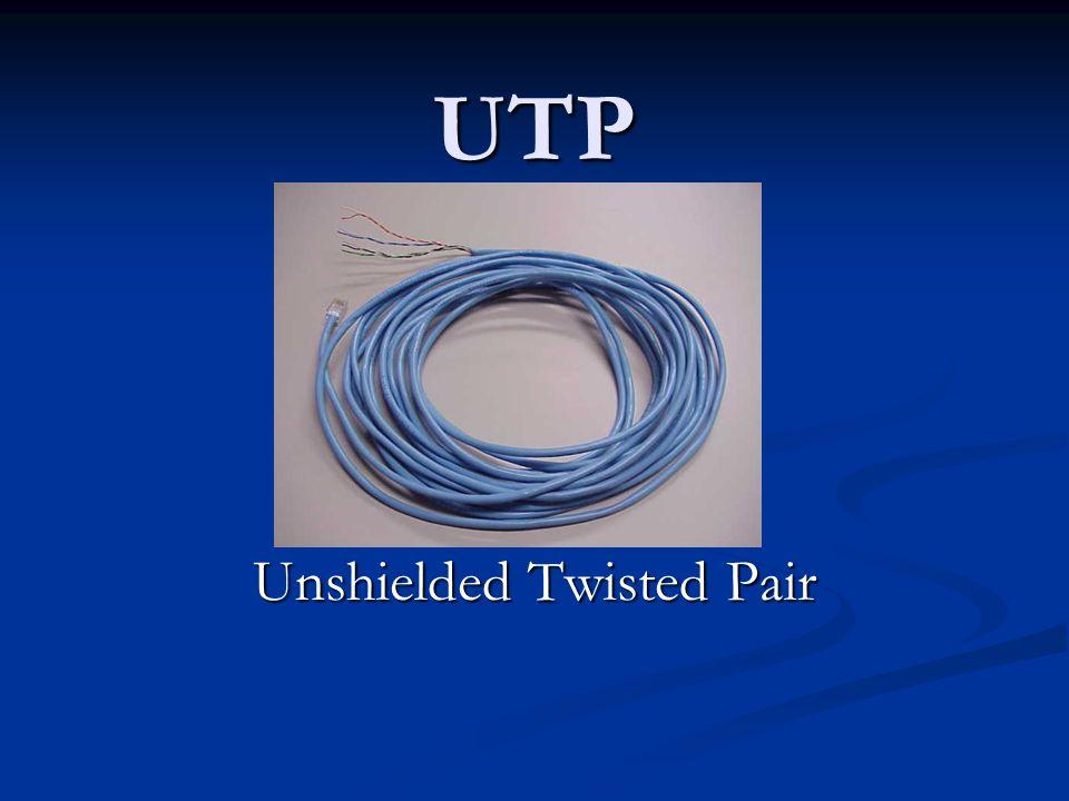Cable de Par Trenzado (UTP)