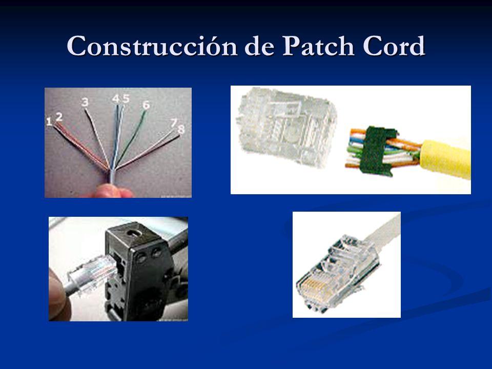 Construcción de Patch Cord