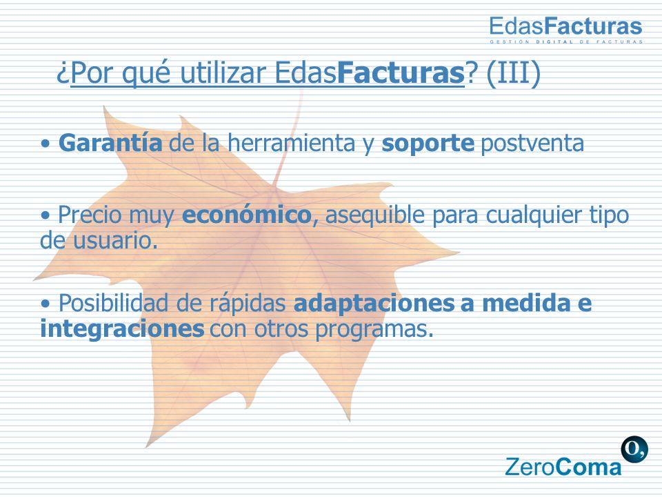¿Por qué utilizar EdasFacturas.