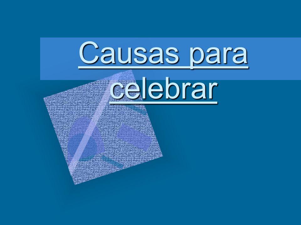 Causas para celebrar