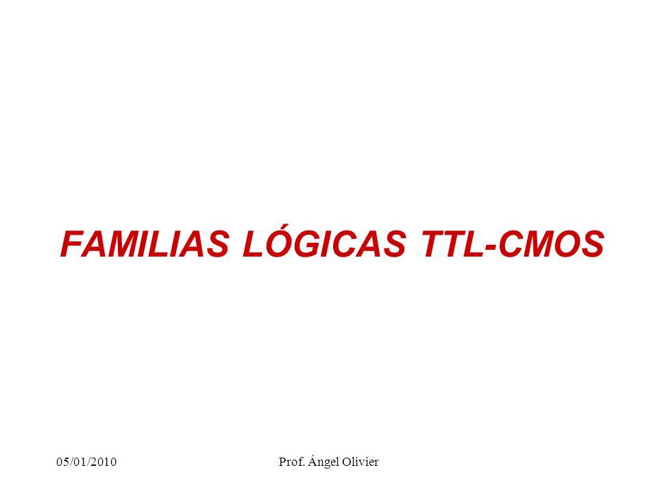 2 Características internas Fabricación de la familia TTL, mediante componentes de tipo BJT y otros elementos.