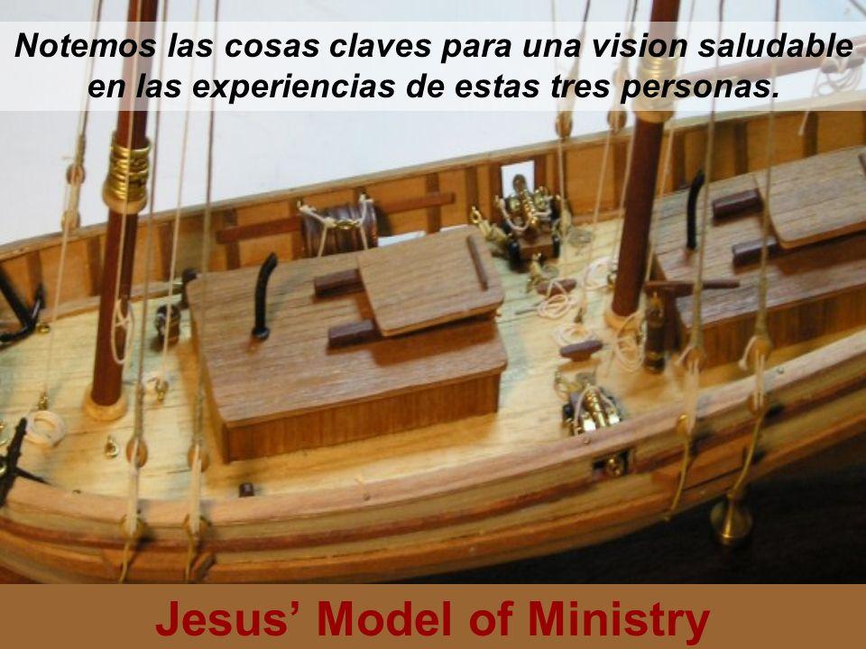 Jesus Model of Ministry Deseo – El que tenia cinco y dos, negociaron y ganaron Actitud – Sin detenerse, tomaron accion.