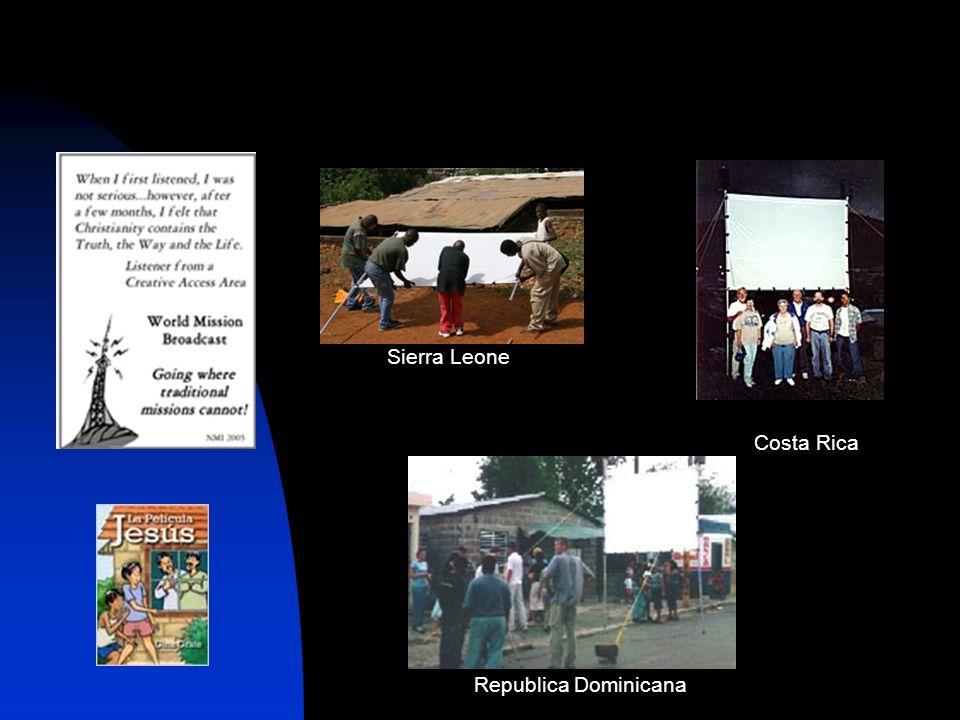 Costa Rica Republica Dominicana Sierra Leone