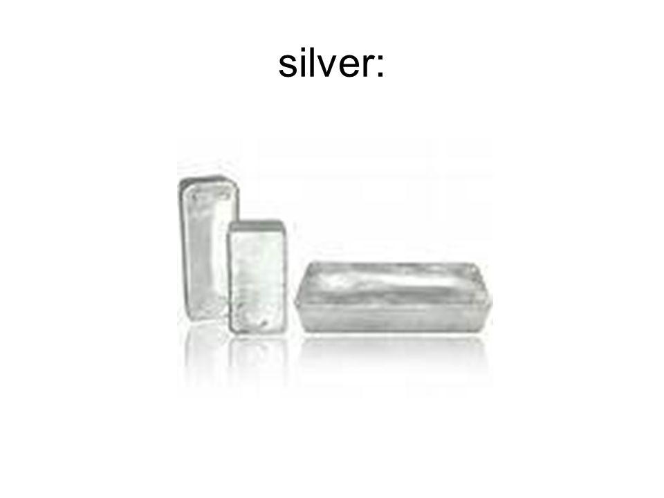 silver: