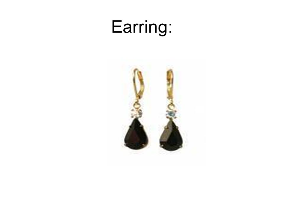 Earring: