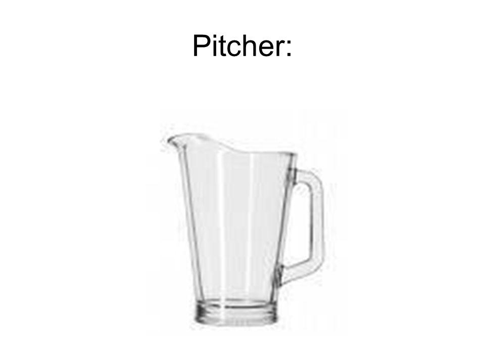 Pitcher: