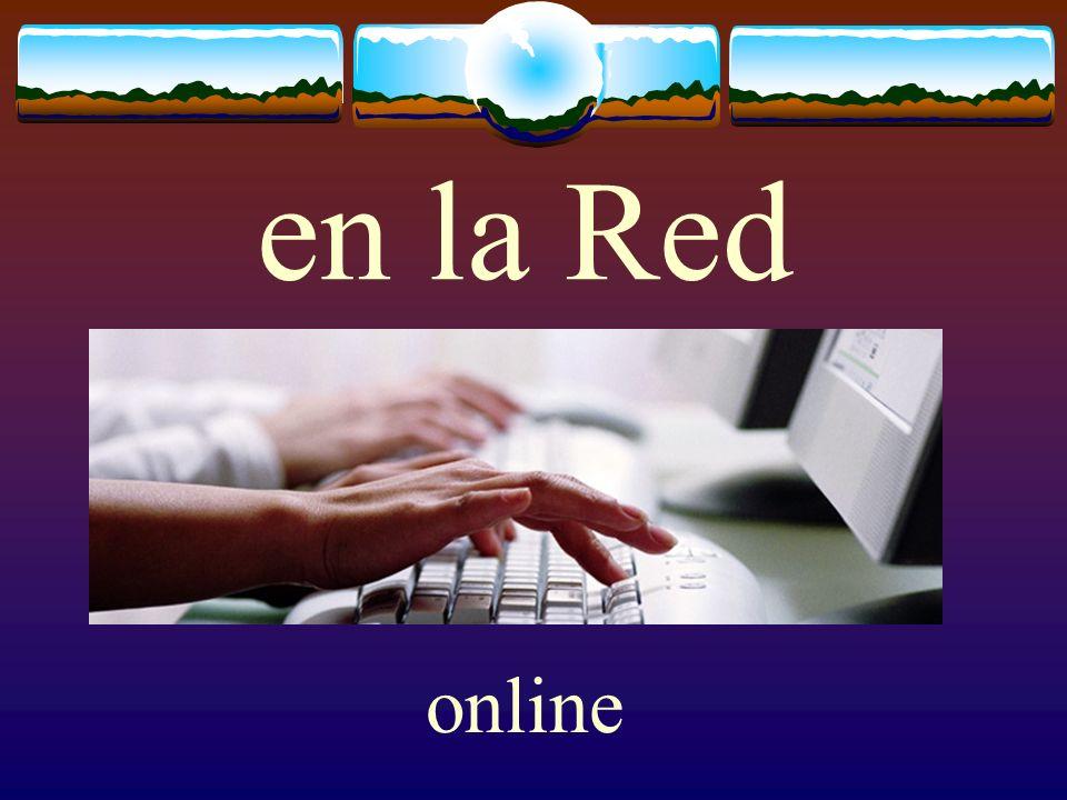 en la Red online