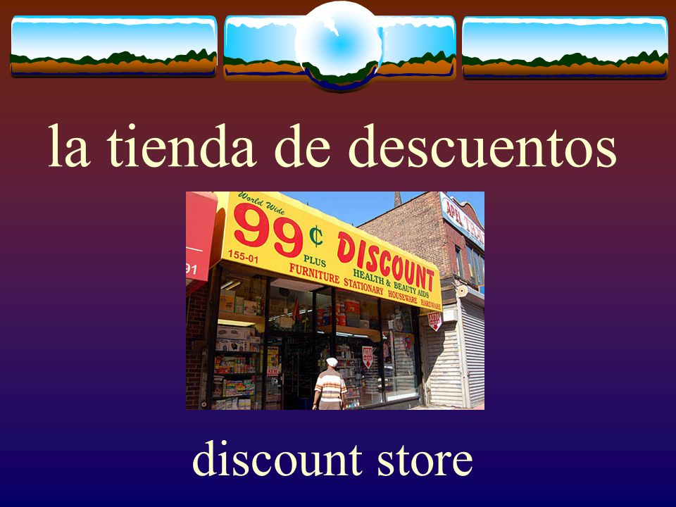 la tienda de descuentos discount store